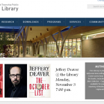 Web Page Review: Public Library Faces Above-The-Fold Issues