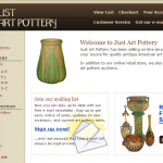 Web Page Review: Art Pottery Site Gets Help with SEO, Mobile Design & Copy