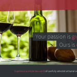 Landing Page Review: Helping the Flow of Bliss Wine Imports