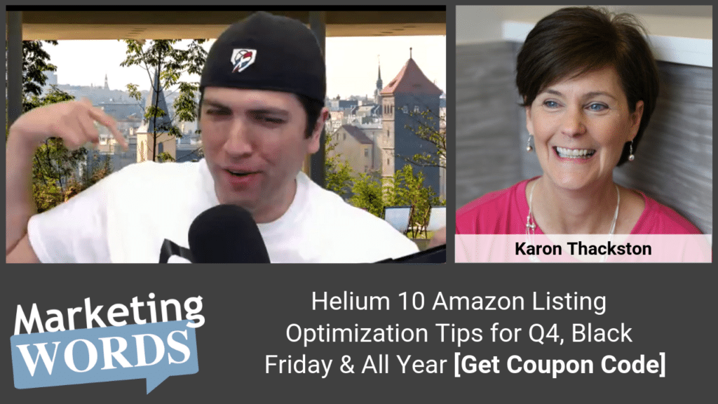 Helium 10 Amazon Listing Optimization Tips for Q4_ Black Friday & All Year [Get Coupon Code]