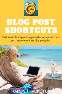 Blog Post Shortcuts