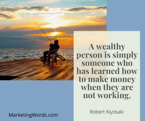 passive income robert kiyosaki