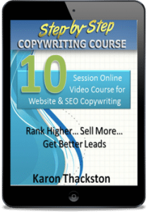 Step by Step Copywriting Course