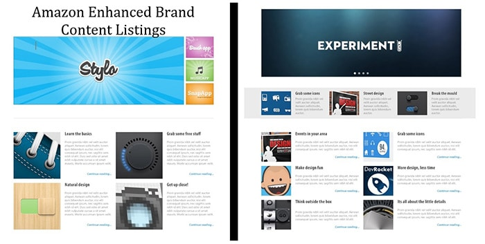 Expertly Written Amazon Enhanced Brand Content Listing Product Pages